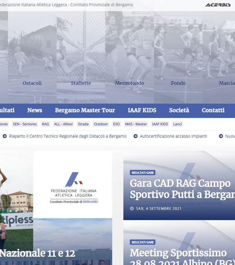 Nuovo sito fidalbergamo.it